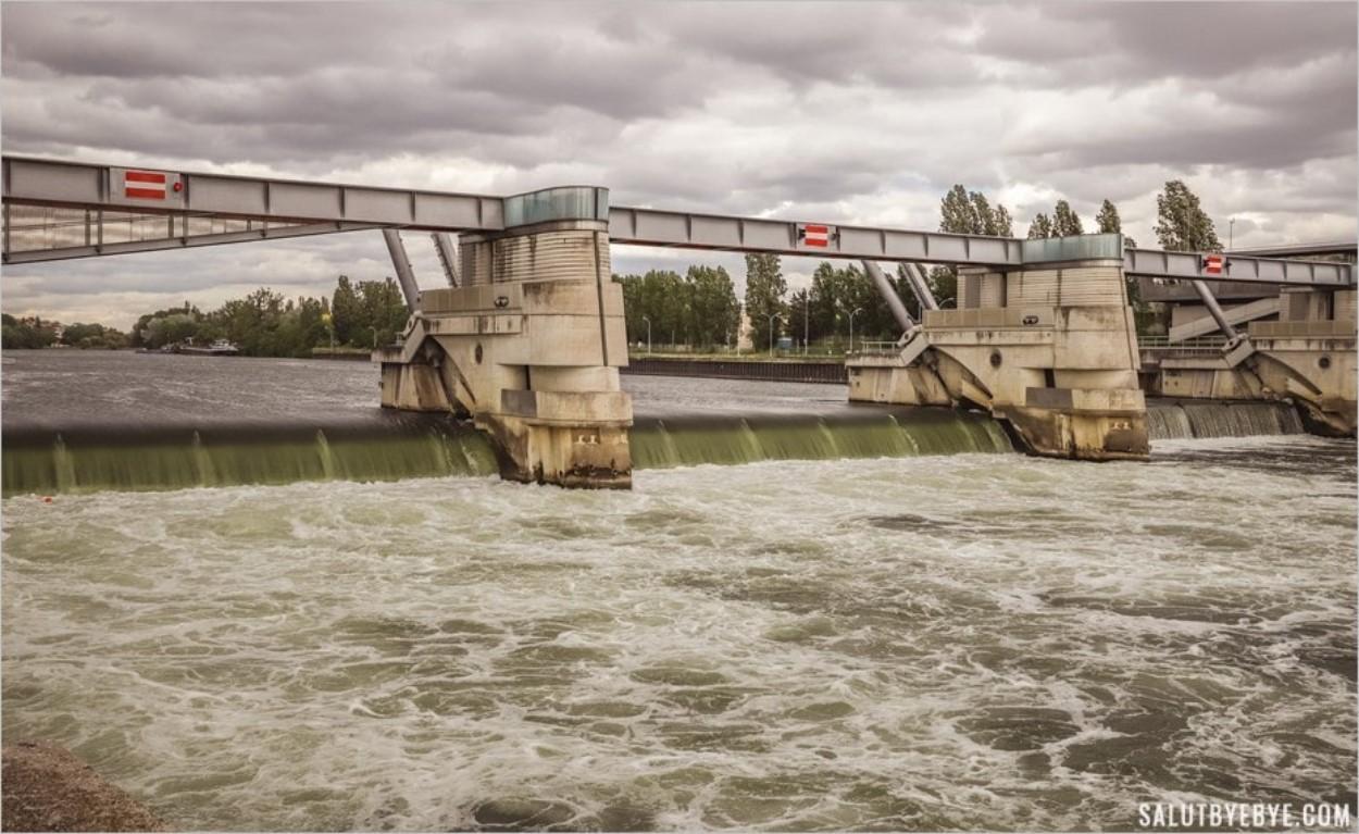 Le barrage de Chatou