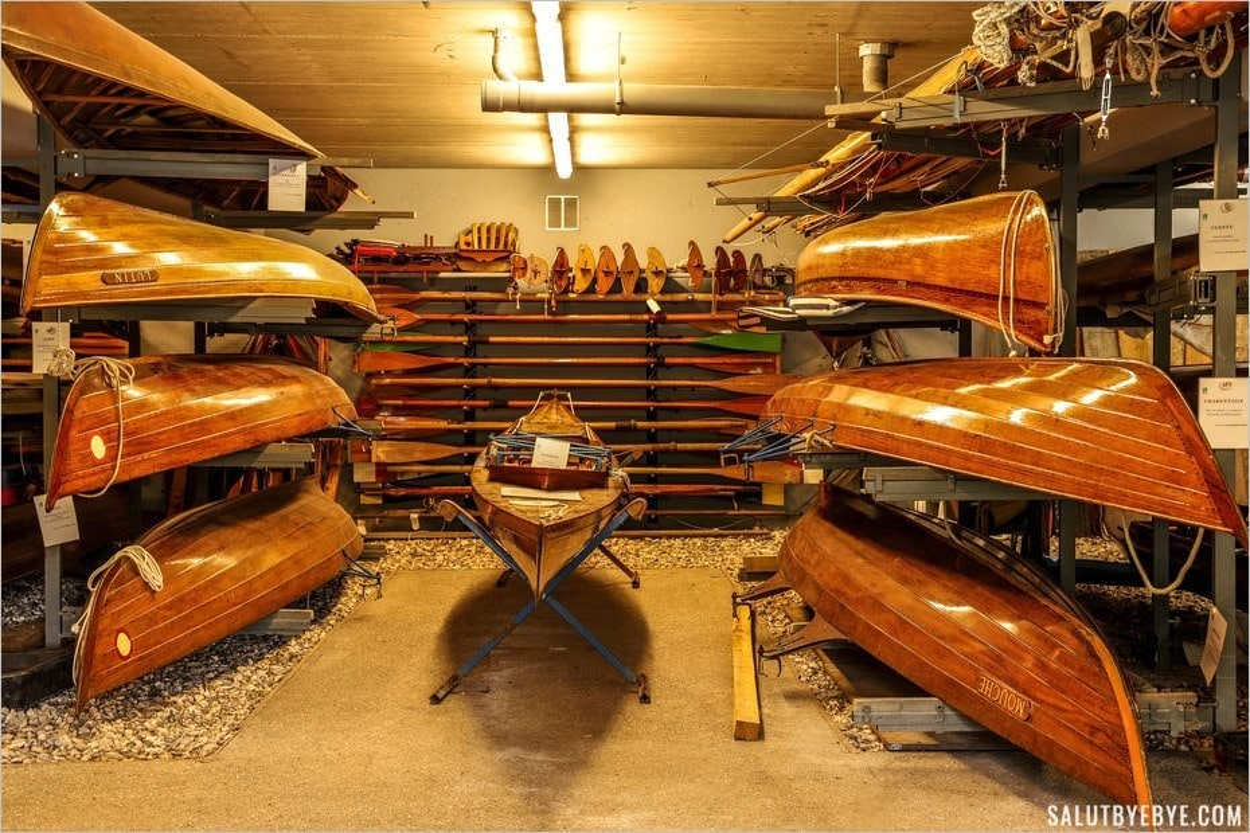 Les bateaux de l'association Sequana à Chatou