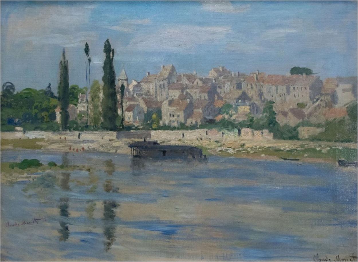 Carrières-Saint-Denis, Claude Monet, 1872