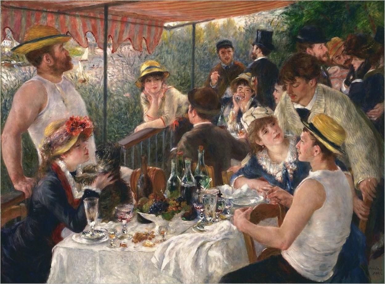 Le Déjeuner des Canotiers de Renoir