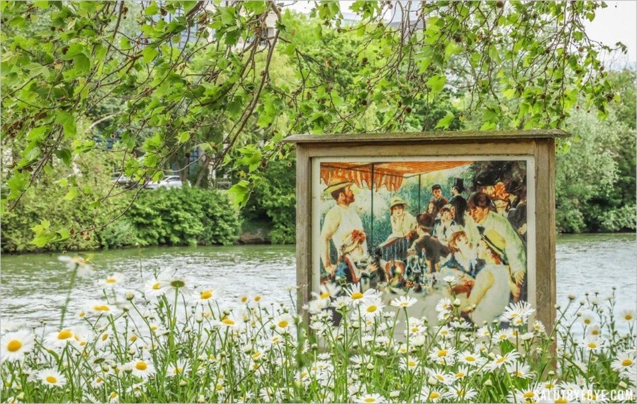 Le Déjeuner des Canotiers sur l'île des impressionnistes à Chatou