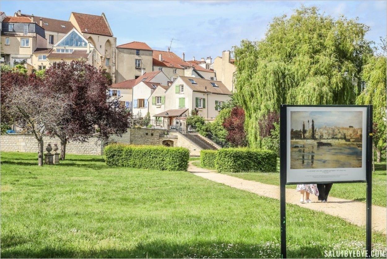 Les jardins de Carrières-sur-Seine