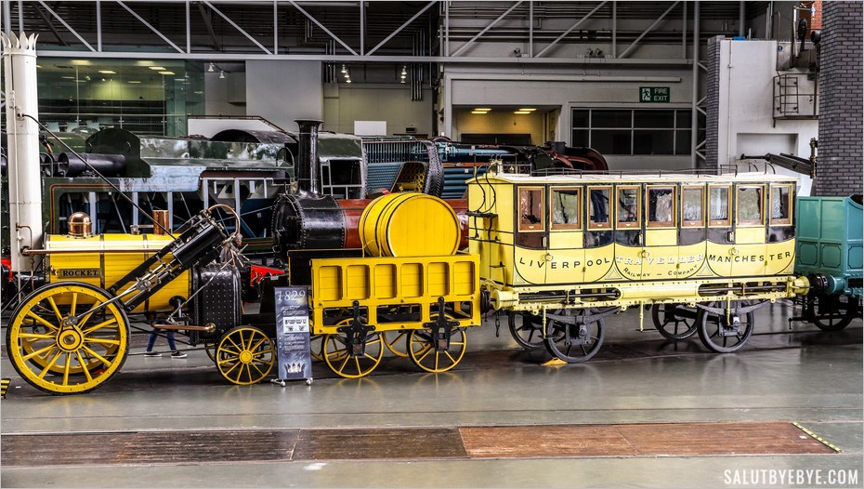 Visite du National Railway Museum