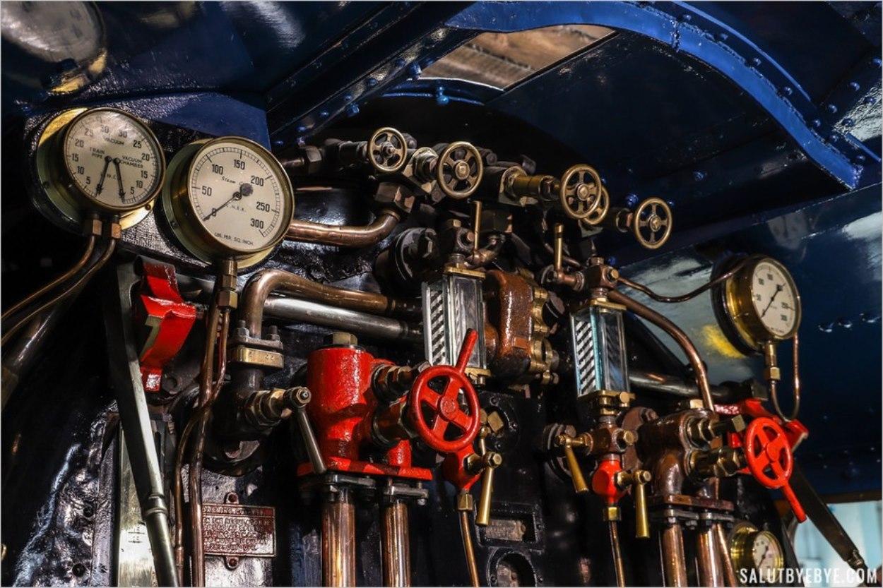 Découvrir les trains de près au musée du rail de York