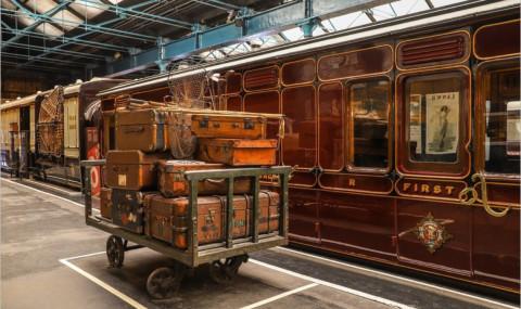 National Railway Museum à York, un musée des trains et du chemin de fer