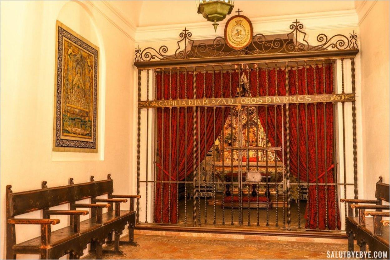 Chapelle de la Plaza de Toros de Séville
