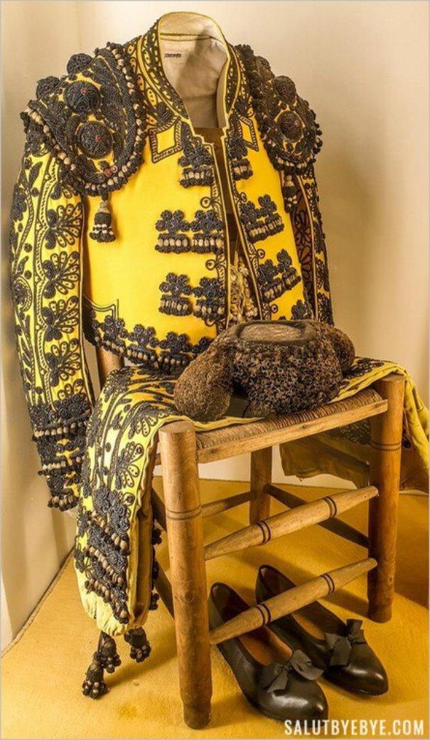 Costume traditionnel de torero