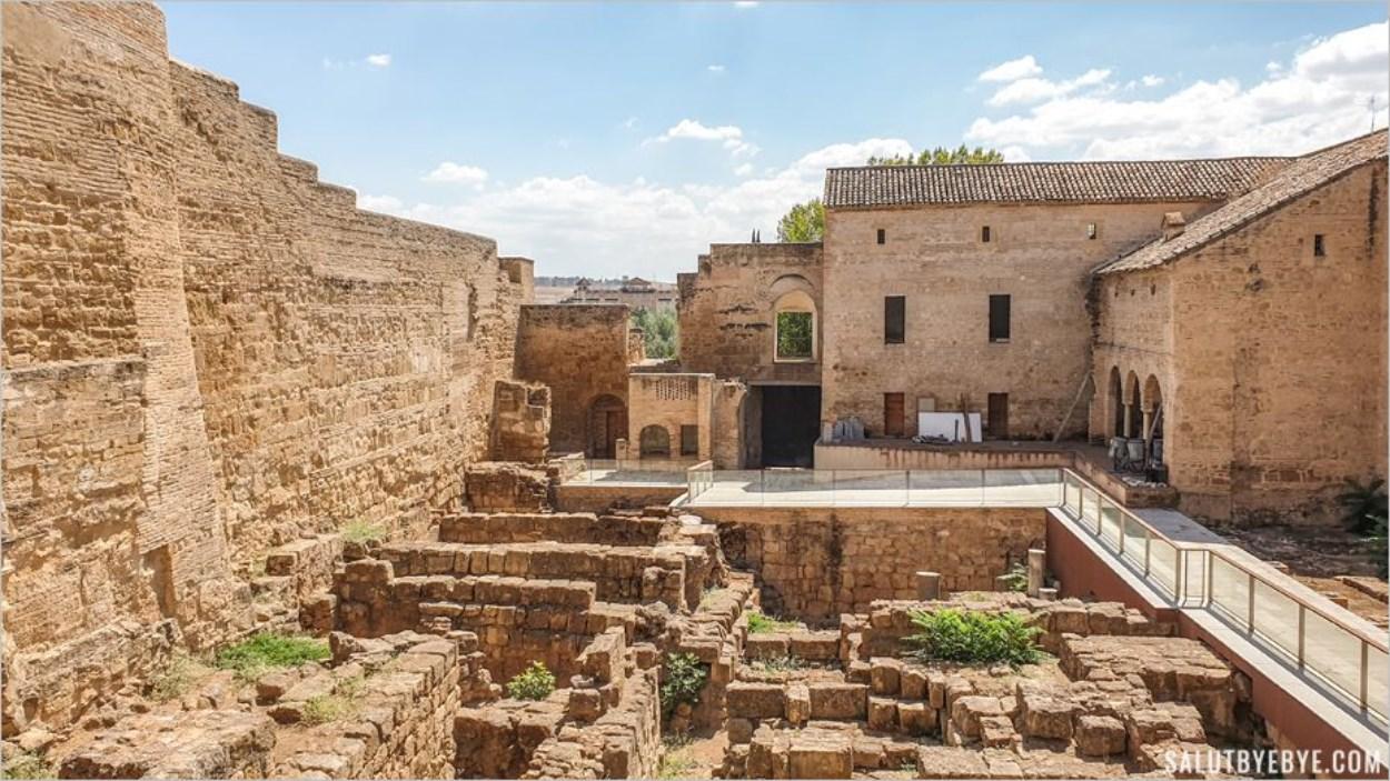Le Patio de Mujeres, cour des femmes de l'Alcazar de Cordoue