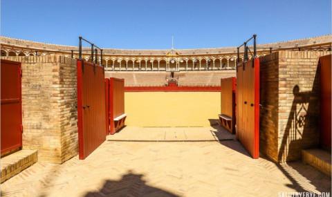Visite des arènes de Séville, la mythique Plaza de Toros de la Real Maestranza