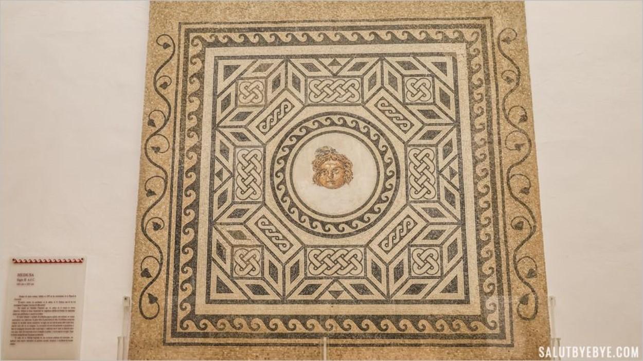 Mosaïques romaines à l'Alcazar de Cordoue