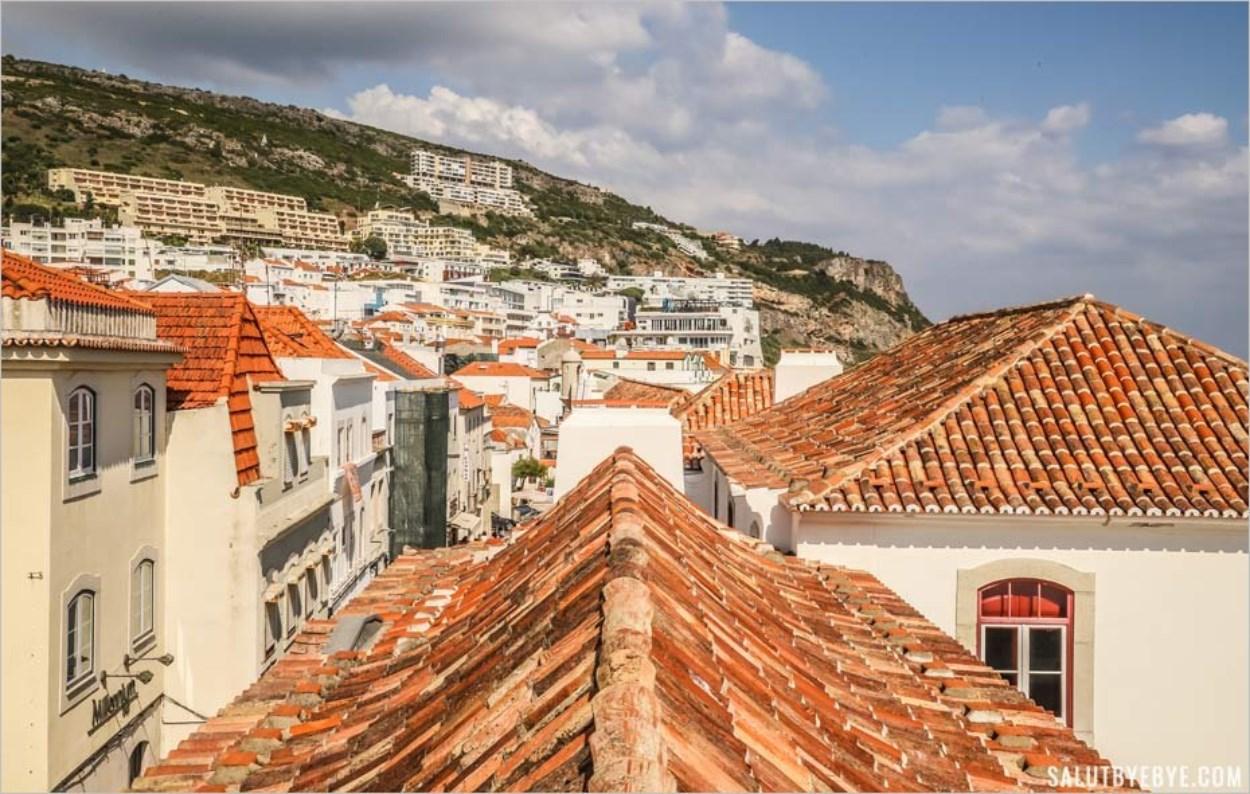 Visite de Sesimbra au Portugal