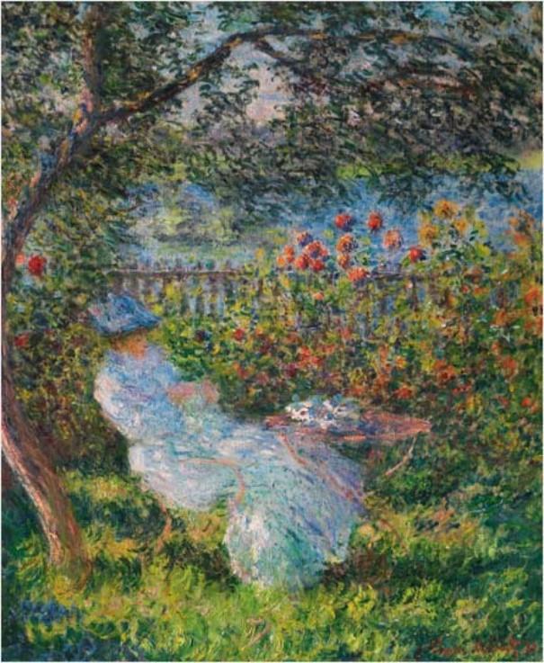 Alice Hoschedé peinte par Claude Monet en 1881
