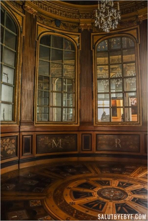 Cabinet aux miroirs, château de Maisons-Laffitte