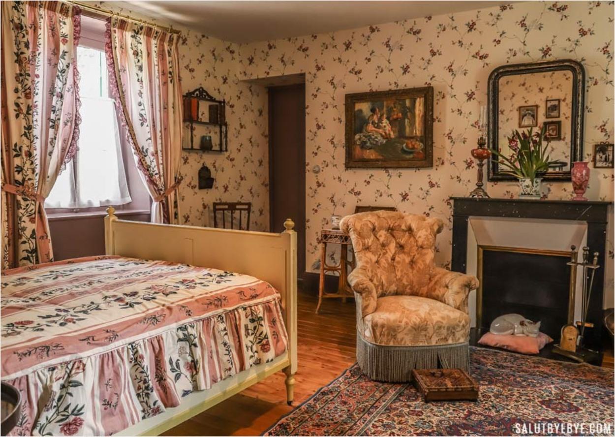 La chambre de Blanche Hoschedé Monet à Giverny