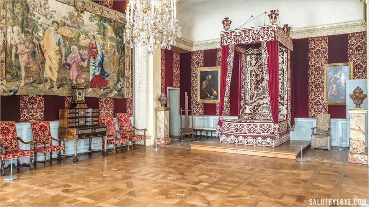 Chambre du Roi, château de Maisons