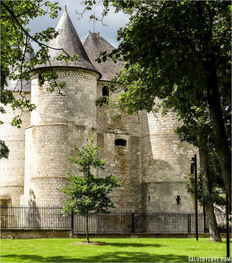Le château des Tourelles à Vernon
