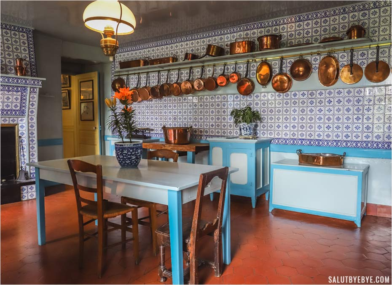 La cuisine de Claude Monet à Giverny
