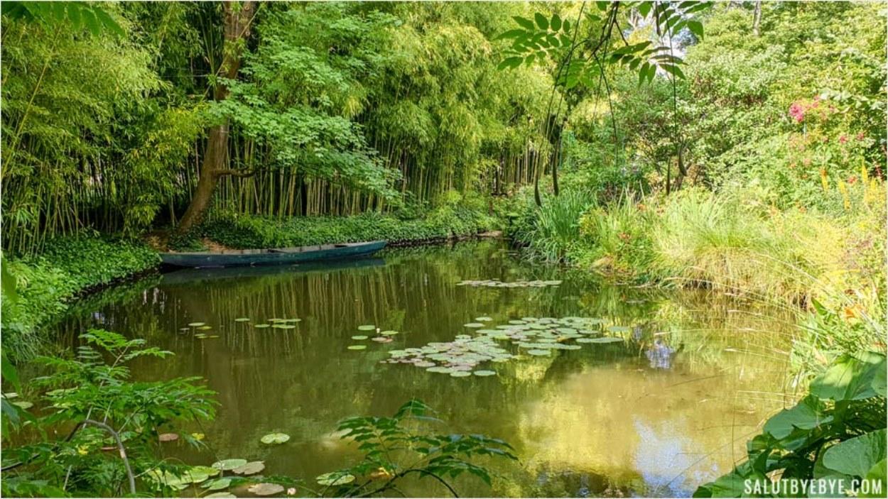 Le jardin de Monet à Giverny