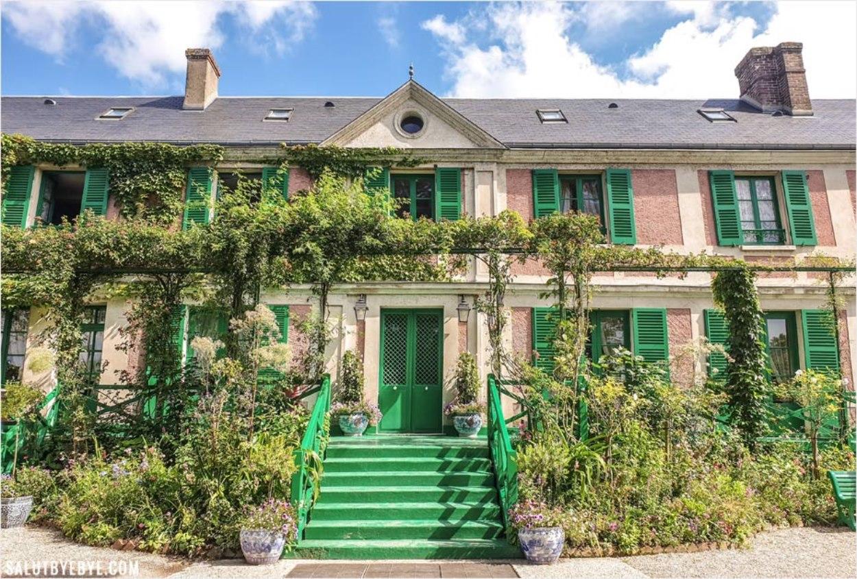 Le Clos Normand, maison de Monet à Giverny en Normandie