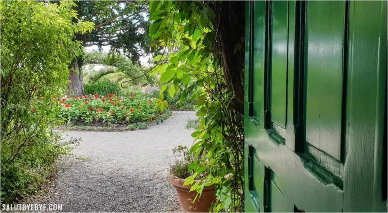 La maison de Monet, ouverte sur le jardin