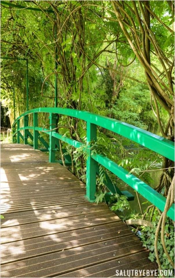 Le pont japonais du bassin aux nymphéas, Giverny