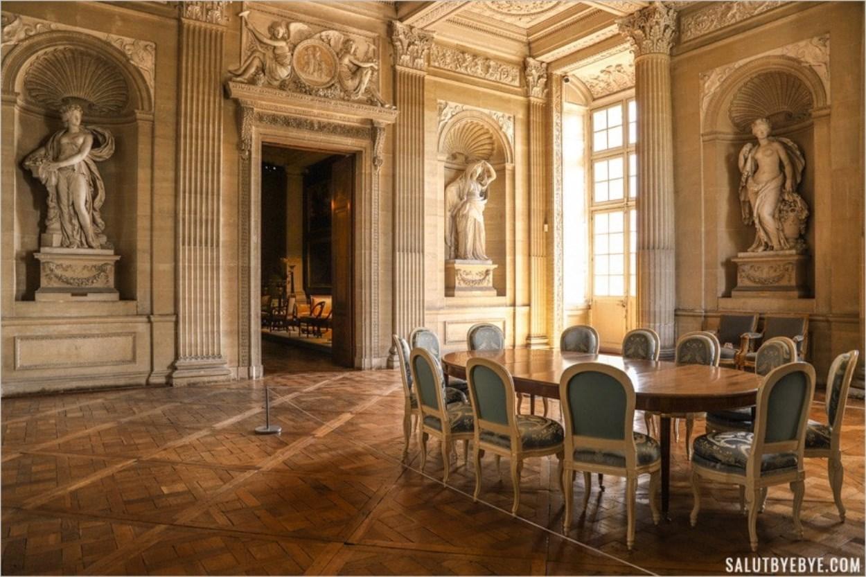 Salle à manger du comte d'Artois, Maisons-Laffitte