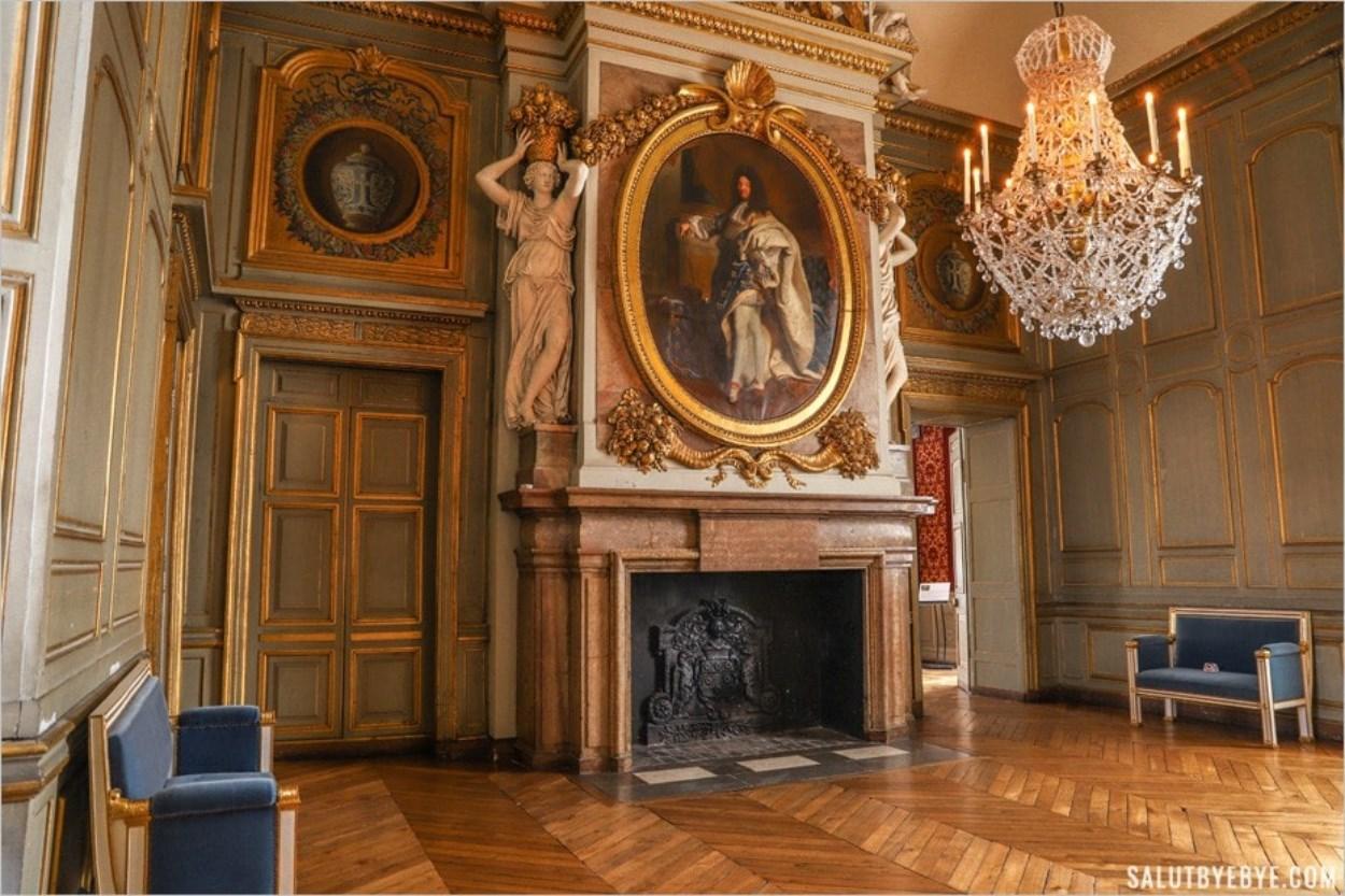 Salon d'Hercule, château de Maisons-Laffitte