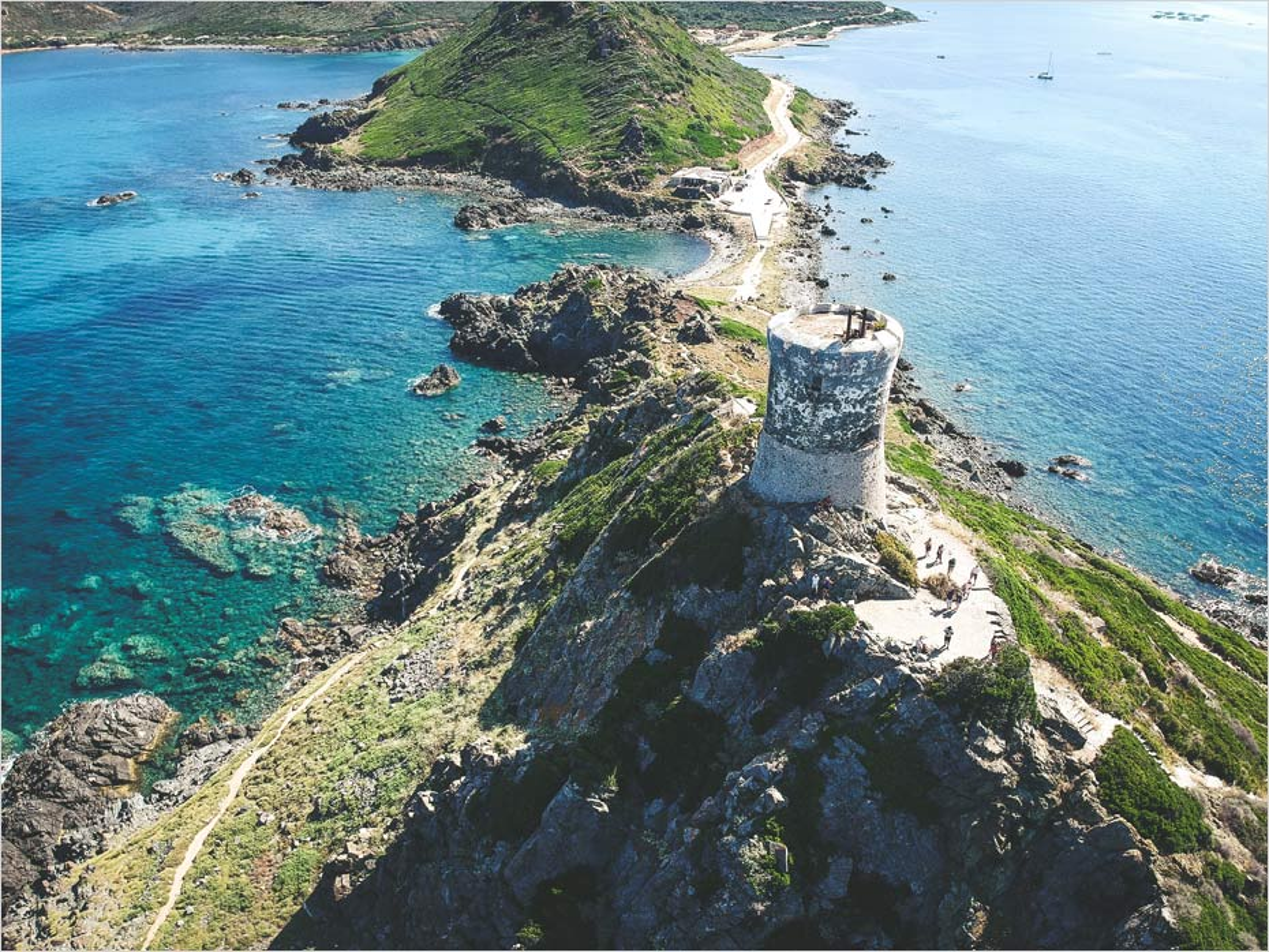 La Tour de la Parata en Corse
