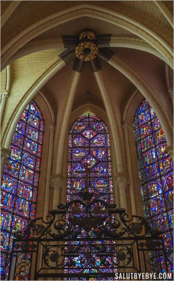 Chapelle des confesseurs à Chartres