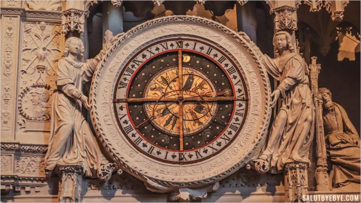 Horloge astronomique de Notre-Dame de Chartres