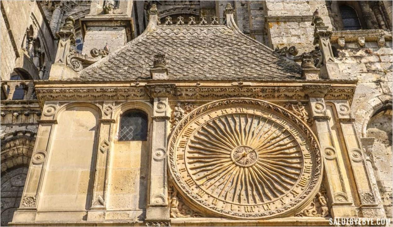 Pavillon de l'Horloge - Cathédrale Notre-Dame de Chartres