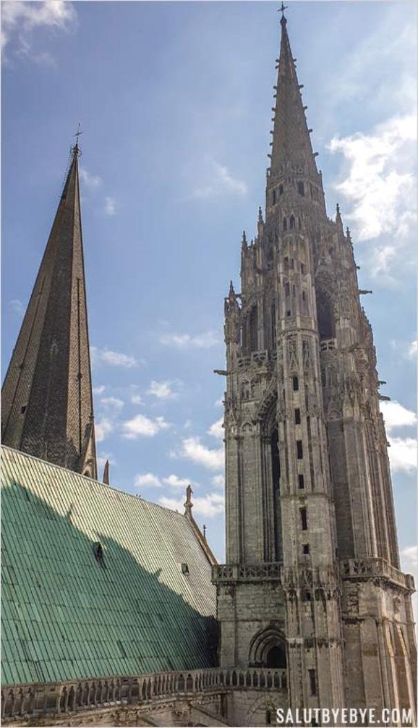 Tours de la cathédrale de Chartres